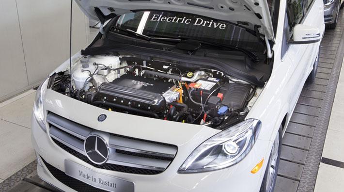 Bild der B-Klasse Electric Drive (Quelle: Mercedes)