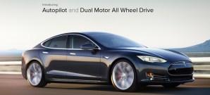 Bild des Tesla Model S P85D AWD Autopilot (Quelle: Tesla Motors)