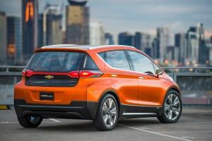 Bild des Chevrolet Bolt EV - Rückansicht (Quelle: GM)