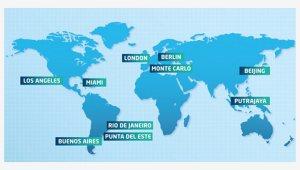 Formel E Austragungsorte 2014/15 (Quelle: ecomento.tv)