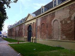 De 17e-eeuwse toegangspoort tot het Marineterrein in Amsterdam