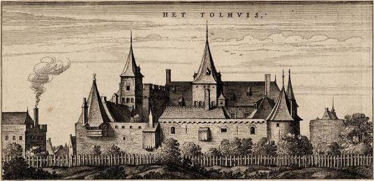 Het Tolhuys bij Lobith via Wikimedia Commons (CC-BY-3.0)