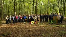 De herdenking bij Steinheim foto: hessenARCHÄOLOGIE
