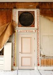De Etrurische Kamer van Huis Barnaart tijdens de restauratie - Foto Jan Luijk