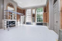 Huis Barnaart tijdens de restauratie - Foto Zien!