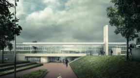 Station Amsterdam Amstel Beeld: Office Winhov / Gottlieb Paludan Architects