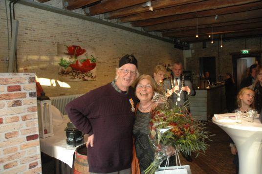 Foto: Thedo Fruithof en zijn vrouw Felicia (foto: Stephan Kraan)