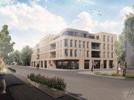 Nieuwbouw plannen op de plek van Hotel Luijk Beeld: Reuvers Bouw en Ontwikkeling