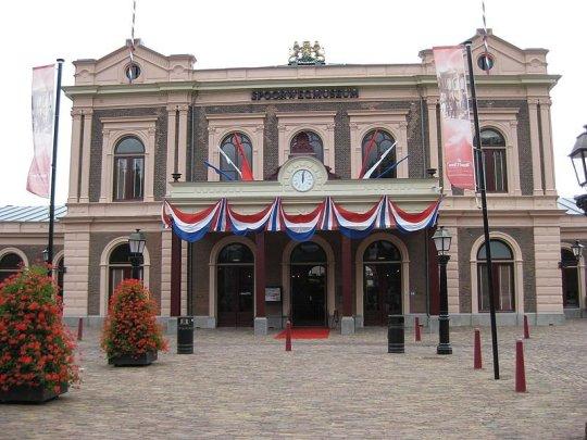 Spoorwegmuseum in Utrecht