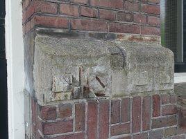 Gordijnenfabriek, Wild & Haldebeck, beschadigd en gerepareerd ornament Foto: Sebas Baggelaar
