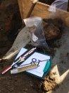 Gevonden archeologisch materiaal Foto: via gemeente Cuijk