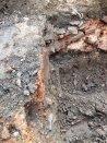Profielfoto van de restanten van het Romeins bouwmateriaal Foto: via gemeente Cuijk