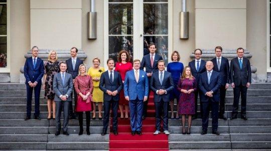 Bordesfoto Kabinet 2017