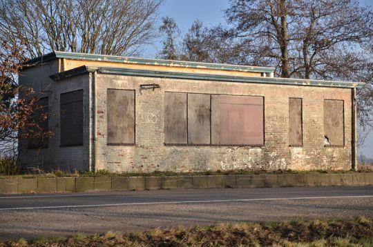 Het grenskantoor bij Rhederburg in 2013