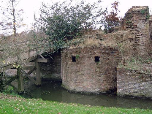 Ruïne van Huis ter Kleef, Haarlem