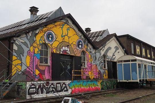 De Spoorzone in Tilburg in 2017