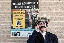 Blok Out: Virtual Reality in de Blokhuispoort Foto: BOEi