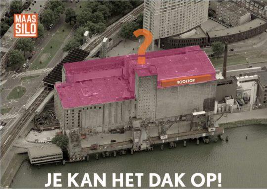Ideeëncompetitie Maassilo Rotterdam 'Je kan het dak op!'