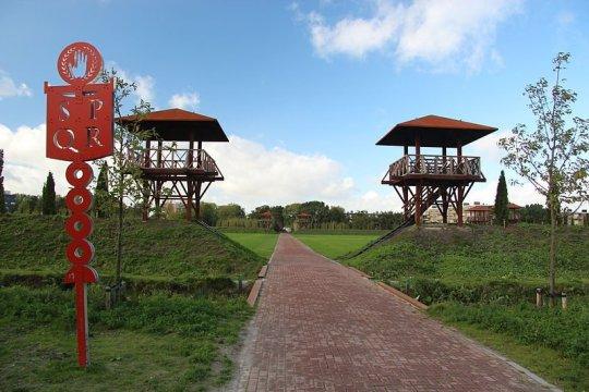 Archeologisch park Matilo in Leiden