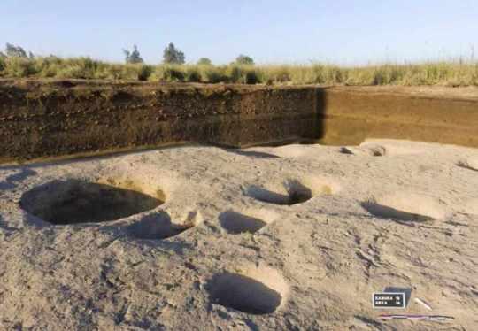 Opgravingen in het duizenden jaren oude dorp in de Nijldelta