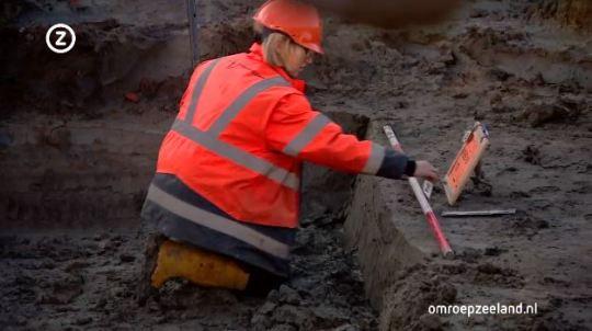 Het archeologisch onderzoek aan de rand van Domburg