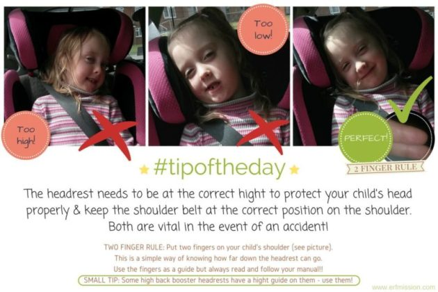 #tipoftheday headrest
