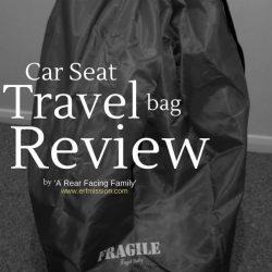 car seat travel bag review