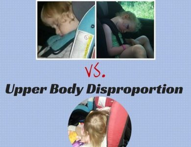 Head Flop vs. upper body disproportion