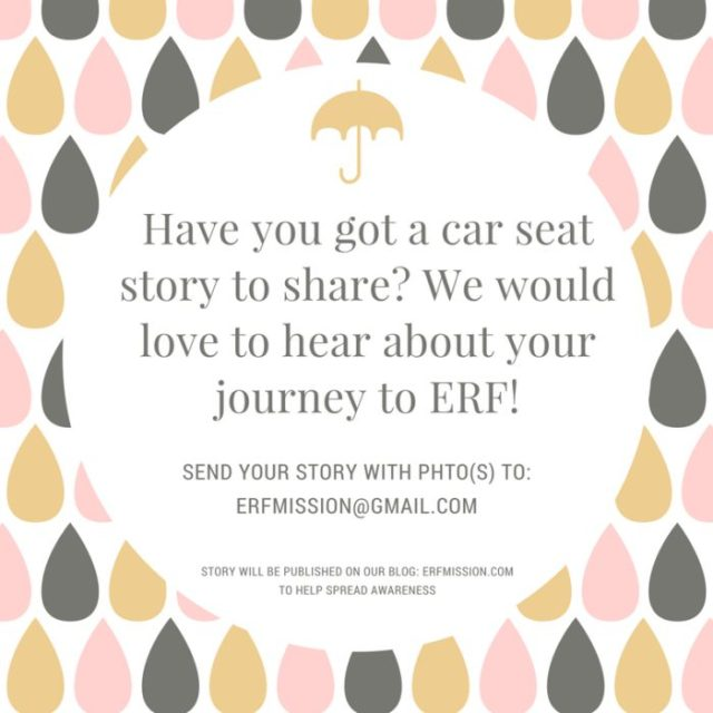 Share your ERF story!