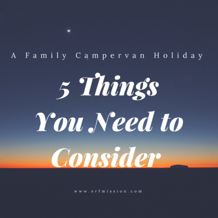 campervan holiday 5 things to consider