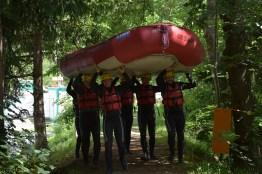 Unterwegs zum Wasser
