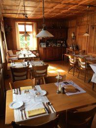 im Restaurant Landhaus