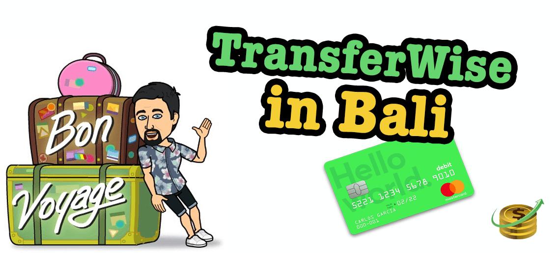 TransferWise in Bali