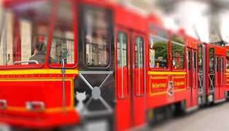 Stadtführung per Straßenbahn in Erfurt