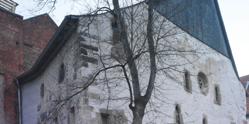 Alte Synagoge Erfurt, (c) Atelier Papenfuss, LH Erfurt
