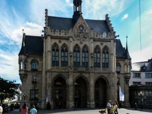 Rathaus auf dem Erfurter Fischmarkt