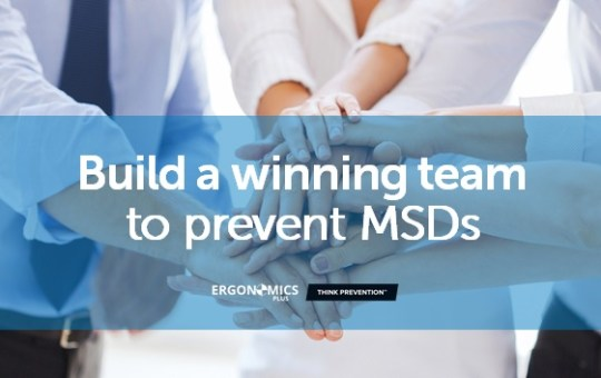 A Guide to MSD Prevention Roles and Responsibilities