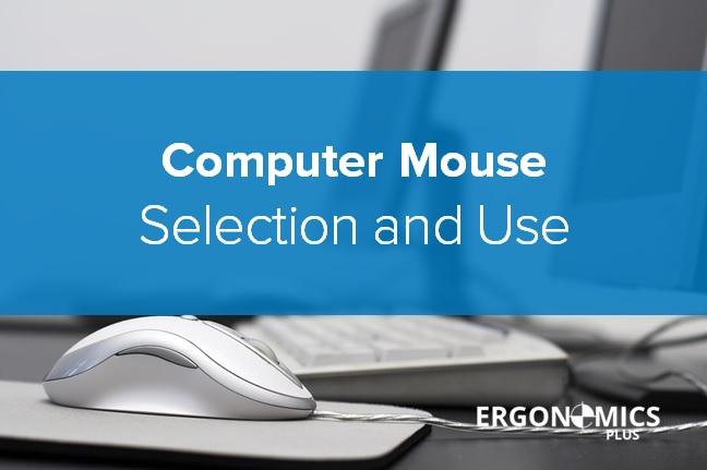 Office Ergonomics Computer Mouse