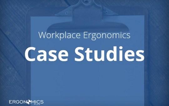 Ergonomics Case Study — Press Operator Job