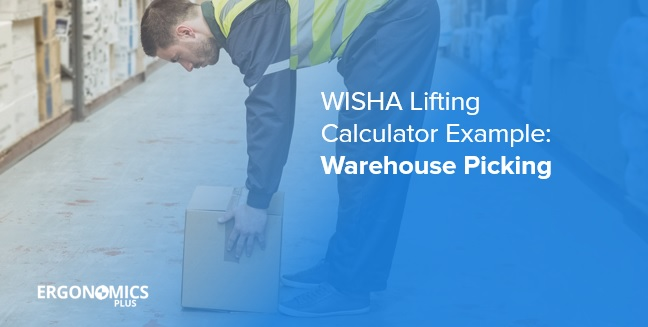 WISHA Lifting Calculator Example