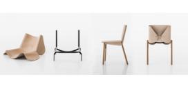 "Kristalia's Hide Chair ""1085 Edition"""