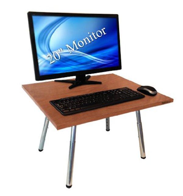 original stand steady desk for converting desk to standup desk