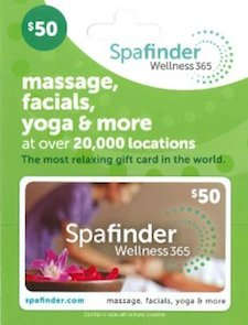 back pain gift idea - spa massage gift certificate