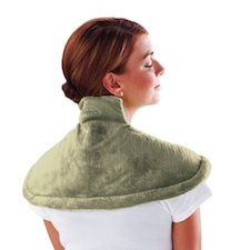 gift idea for people with neck pain - neck and shoulder heat wrap