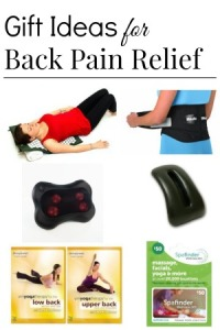 gift ideas for back pain relief