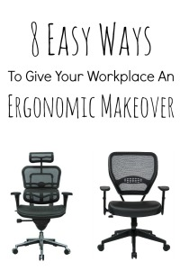 8 easy ways to give your workplace and ergonomic makeover