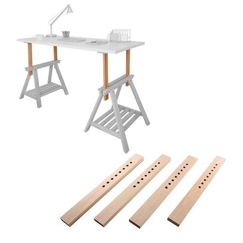 standing desk under $100 - diy standing desk kit