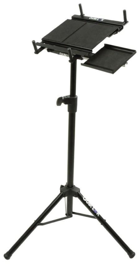 standing desk under $100 - quik lok laptop stand