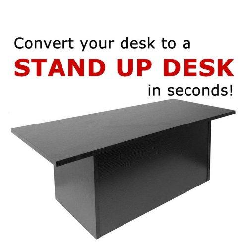 standing desk under $100 - speedy stand up portable desk