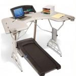 TrekDesk Treadmill Desk - Walk while working